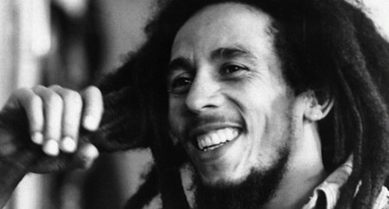 Bob Marley noir et blanc